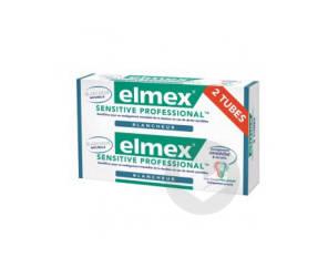 Sensitive Dentifrice Professional Blancheur 75 Ml Lot De 2