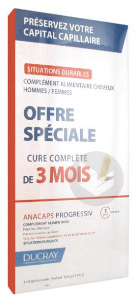 Anacaps Progressiv Lot De 3 X 30 Gelules