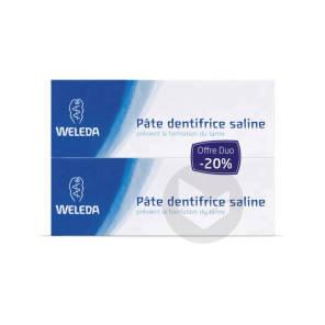 Soins Bucco Dentaires Pate Dentifrice Saline 2 T 75 Ml