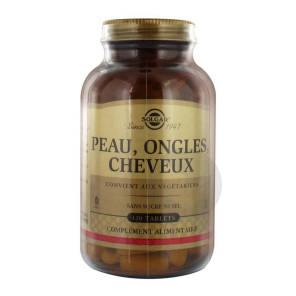 Tabl Cheveux Peau Ongles Pot 120