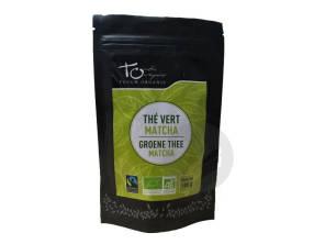 The Vert Matcha En Poudre Bio 100 G