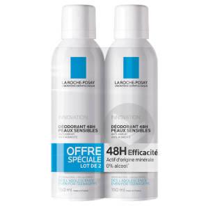 Deodorant Peaux Sensibles 48 H Lot 2 X 150 Ml