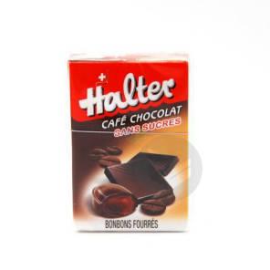 Sans Sucre Bonbon Cafe Fourre Chocolat B 36 G