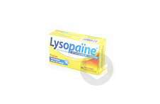Lysopaine Cetylpyridinium Lysozyme Comprime A Sucer Maux De Gorge Fraise Sans Sucre Edulcore Au Sorbitol Et A La Saccharine 2 Tubes De 18