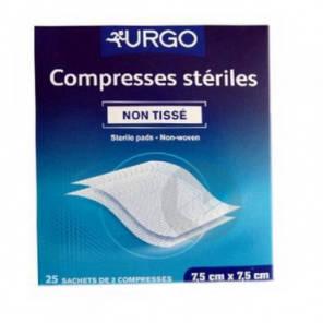 Compr Sterile Non Tissee 10 X 10 Cm 25 Sach 2
