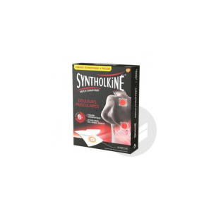 Syntholkine Patch Chauffant 8 Heures Douleurs Musculaires Petit Format B 4
