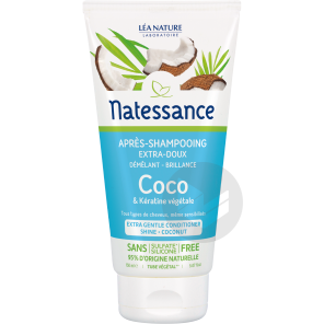 Apres Shampooing Extra Doux Brillance Coco Keratine Vegetale Usage Frequent