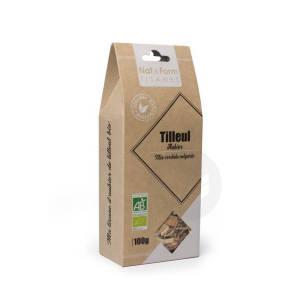 Nat Form Tisanes Aubier De Tilleul Blanc Ecorce Bio Tis B 100 G