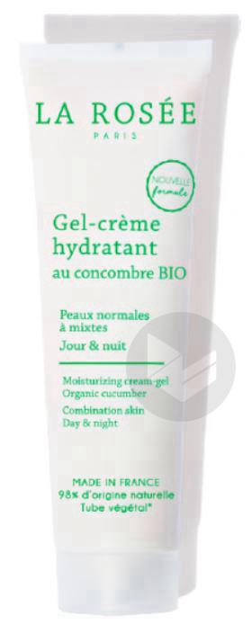La Rosee Gel Creme Hydratant Peau Normale A Mixte T 60 Ml