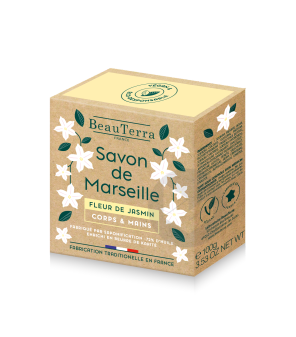 Savon De Marseille Solide Fleur De Jasmin 100 G