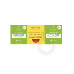 Antichute Reactionnelle Complement Alimentaire Pousse Cheveux 3 X 30 Capsules