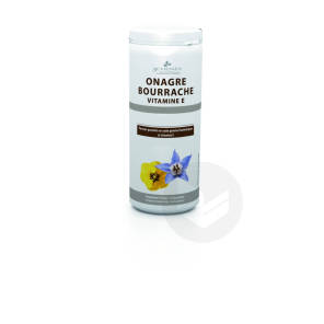 Onagre Bourrache Vitamine E 150 Capsules