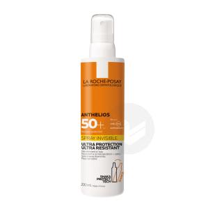 Anthelios Creme Solaire En Spray Invisible Corps Spf 50 Avec Parfum 200 Ml