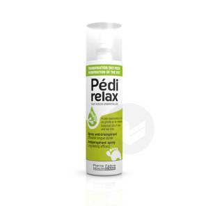 Pedirelax Spray Anti Transpirant Aux Huiles Essentielles Efficacite Longue Duree 125 Ml