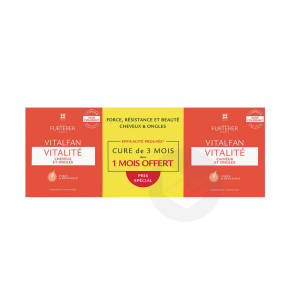 Vitalite Cheveux Et Ongles Complement Alimentaire 3 X 30 Capsules