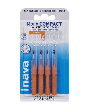 Brossettes Mono Compact Orange Iso 3 1 2 Mm X 4