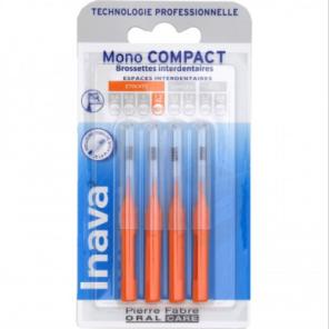Brossette Mono Compact Orange X 4