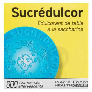Edulcorant Effervescent A La Saccharine 600 Comprimes