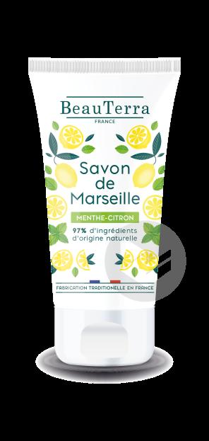 Savon De Marseille Liquide Menthe Citron 100 Ml