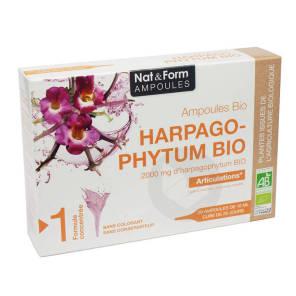 Nat Form Ampoules Harpagophytum Bio S Buv 20 Amp 10 Ml