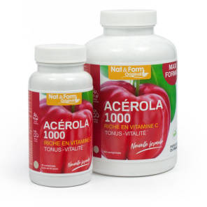 Nat Form Naturellement Acerola 1000 Cpr B 30