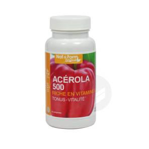 Nat Form Naturellement Acerola 500 Cpr B 24