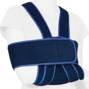 Bandage Immobilisation Epaule Bleu M