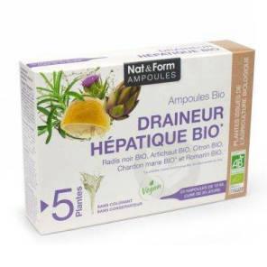 Nat Form Ampoules S Buv Draineur Hepatique Bio 20 Amp 10 Ml