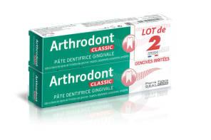 Dentifrice Gencives Irritees 2 X 75 Ml