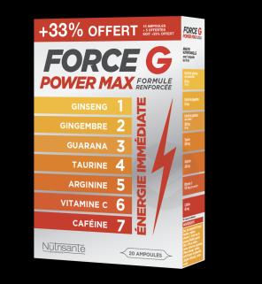 Power Max Formule Renforcee Promo 20 Ampoules