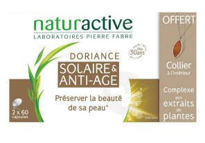 Doriance Solaire Anti Age 2 X 30 Capsules 1 Collier Offert