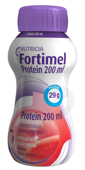 Fortimel Protein Sensation Fraicheur Fraise Givree 200 Ml