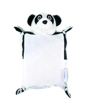 Kinecare Bouillotte Doudou Dehoussable Panda 21 X 15 Cm