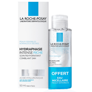 Hydraphase Intense Riche Respectissime Demaquillant Yeux Waterproof 50 Ml Offert