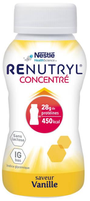 Renutryl Concentre Saveur Vanille 4 X 200 Ml