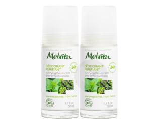 Duo Deodorant Purifiant 24 H 2 X 75 Ml
