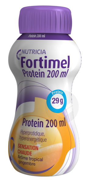 Fortimel Protein Sensation Chaude Tropical Gingembre 200 Ml
