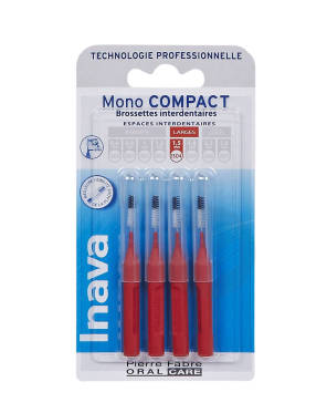 Brossettes Mono Compact Rouge Iso 4 1 5 Mm X 4