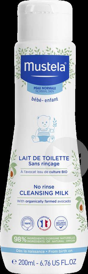 Lait De Toilette Sans Rincage 200 Ml