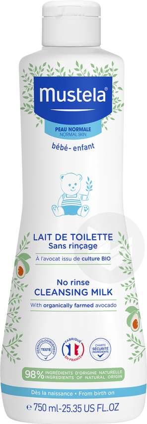 Lait De Toilette Sans Rincage 750 Ml