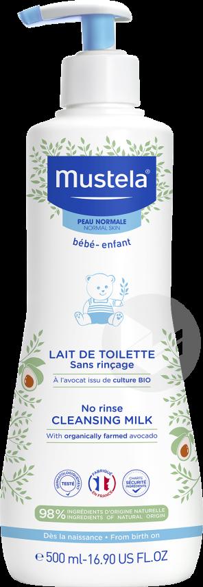 Lait De Toilette Sans Rincage 500 Ml