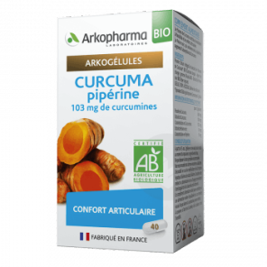 Curcuma Piperine Bio 40 Gelules