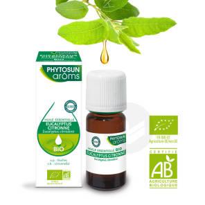 Huile Essentielles Eucalyptus Citronne Bio 10 Ml