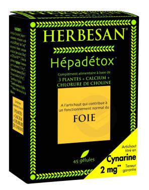 Hepadetox 45 Gelules