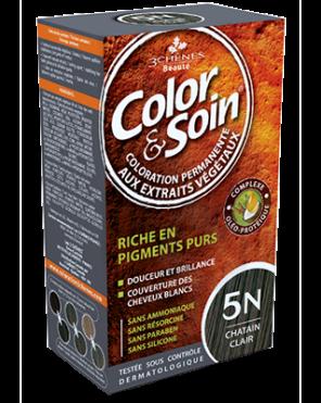 Color Et Soin Coloration Permanente Chatain Clair 5 N