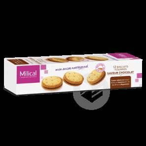 Biscuit Fourre Chocolat X 12