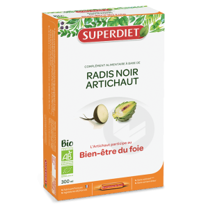 Radis Noir Artichaut Bio 20 X 15 Ml