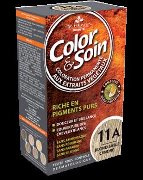 Color Et Soin Coloration Permanente Blond Sable Cendre 11 A