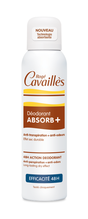 Deodorant Absorb Efficacite 48 H Spray 150 Ml