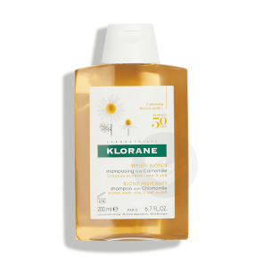 Shampoing Eclaircissant Reflets Blonds A La Camomille 200 Ml